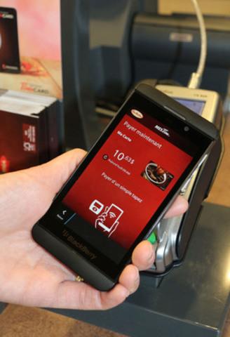 Tim Hortons présente le mode de paiement « tapez et scannez » pour les achats faits en restaurant. (Groupe CNW/Tim Hortons)