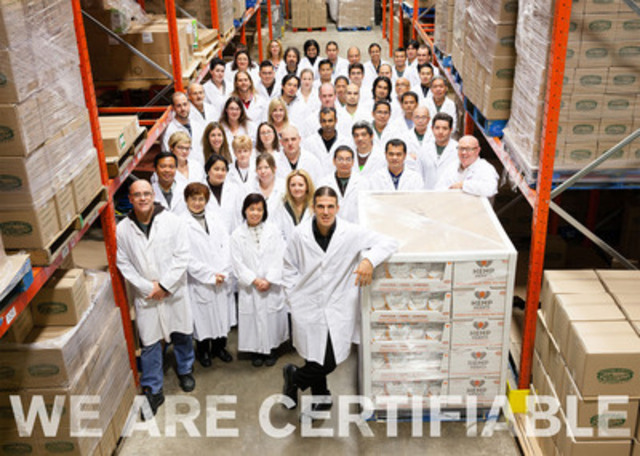 Manitoba Harvest Hemp Foods Team - 2012 (CNW Group/Manitoba Harvest Hemp Foods & Oils)