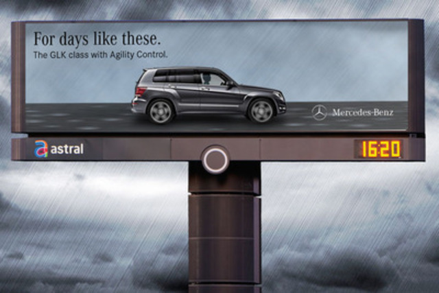 Days like these - Mercedes-Benz Canada 3. (CNW Group/Astral Media Inc.)