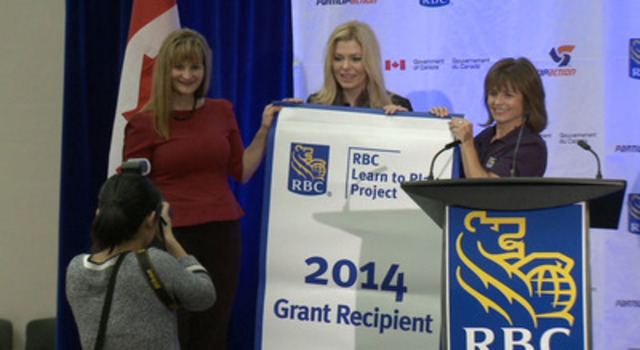 Video: B-Roll: RBC, Public Health Agency of Canada, ParticipACTION commit $8.2-million to 'RBC Learn to Play'