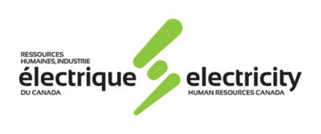Logo : Ressources humaines, industrie électrique du Canada (Groupe CNW/Ressources humaines, industrie en électrique du Canada)