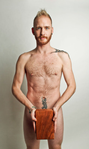 Jared Scratch, Yogi Bare co-founder and among the yoga teachers who teaches clothing optional, undies-only, and nude yoga classes. (CNW Group/Yogi Bare)