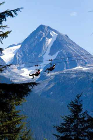 Superfly Ziplines takes summer fun in Whistler, B.C. to new heights with the longest ziplines in Canada (CNW Group/The Adventure Group) (CNW Group/Superfly Ziplines)