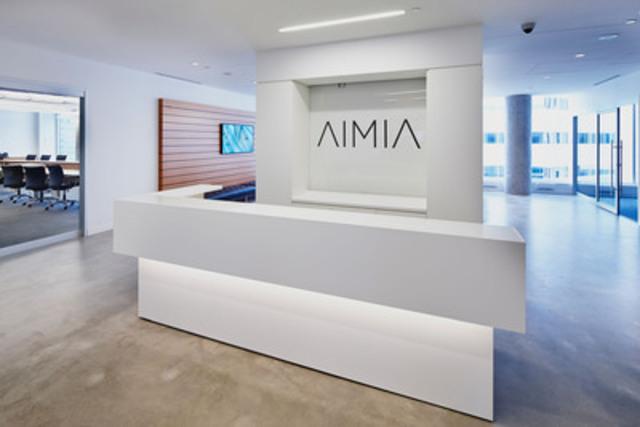 Aimia déménage son siège social international dans Tour Aimia, au cœur du centre des affaires de Montréal (Groupe CNW/AIMIA)