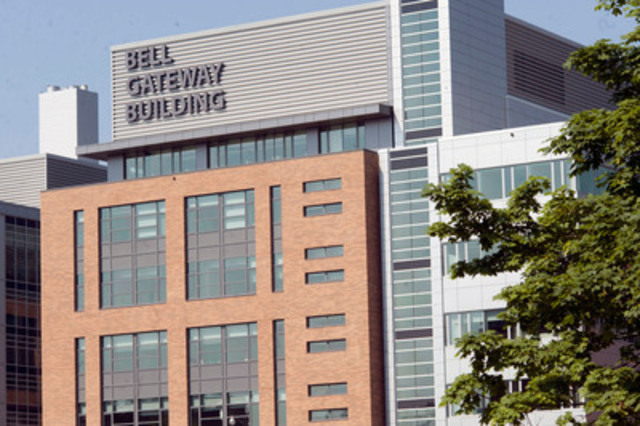L'édifice Bell Gateway au Centre de toxicomanie et de santé mentale. (Groupe CNW/BELL CANADA)
