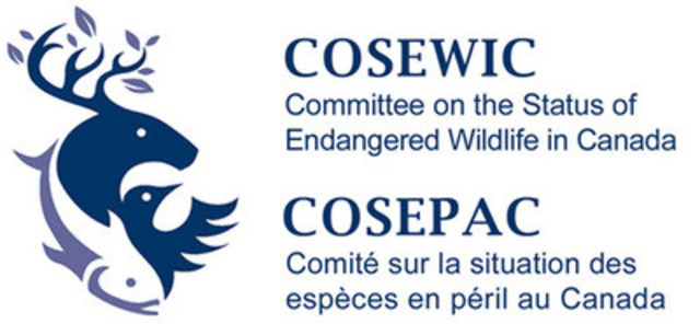 COSEWIC Logo (CNW Group/Committee on the Status of Endangered Wildlife in Canada)