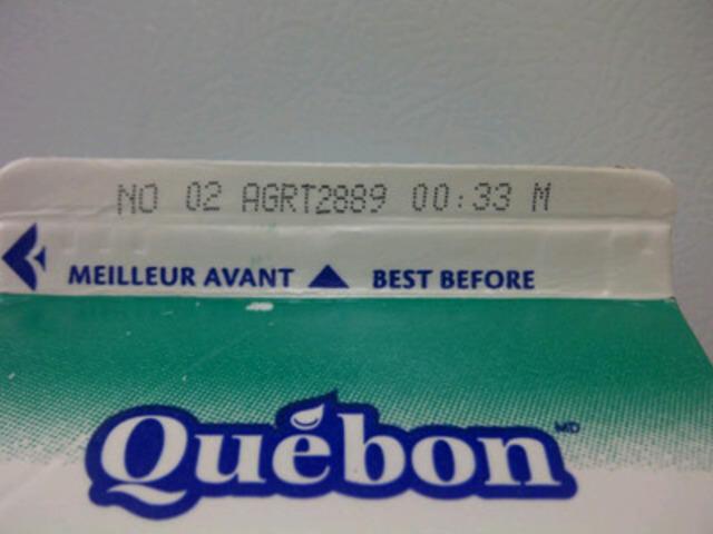 Carton de lait (Groupe CNW/Agropur)