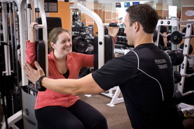 The Team at GoodLife Fitness is focused on one thing -- positively changing the lives of as many Canadians as possible. The company aims to do this by becoming the largest corporately owned fitness club chain in the world. (CNW Group/GoodLife Fitness)