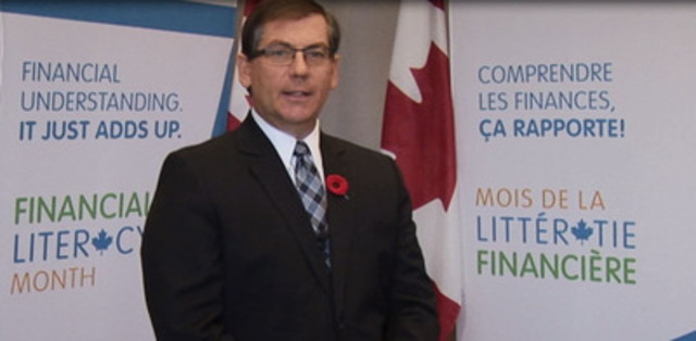 Vidéo: Le ministre Sorenson donne la perspective du gouvernement fédéral sur l'importance de la littératie financière et de la protection des consommateurs.