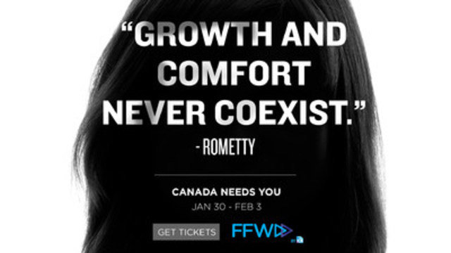 FFWD Advertising & Marketing Week 2017. Image credit: Jay Chaney, Chief Strategy Officer at Cossette (CNW Group/Institute of Communication Agencies)