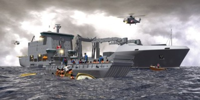 Resolve-Class AOR (CNW Group/Davie Shipbuilding)