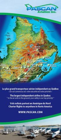 Destinations map (CNW Group/Pascan Aviation inc.)