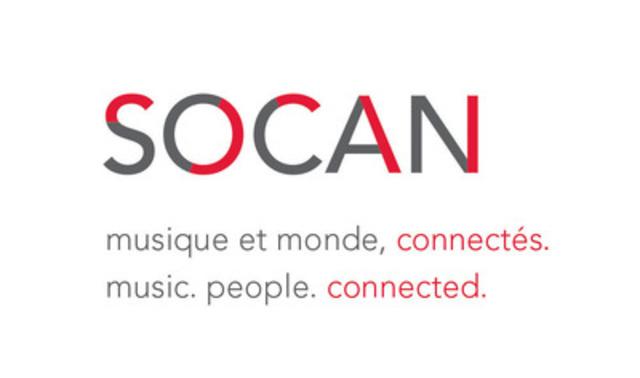 La nouvelle image de marque de la SOCAN (Groupe CNW/SOCAN)