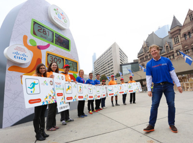 The top 10 ticket requests to date for the toronto 2015 pan am games