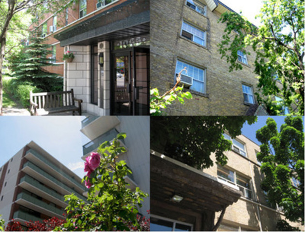 Toronto Apartment Portfolio - 315 Suites - Transglobe Investment Management closed on a 315-suite portfolio on June 1st, 2011. Formerly owned by Hampton-Metrix the portfolio is comprised of five residential properties located at 2402 & 2406 Queen St. E., 1065 Eglinton Ave. W., 5 Hartham Place and 2180 & 2190 Weston Rd. in Toronto and 206 - 212 Lakeshore Rd. E. & 8 Oakwood Ave. N. in Mississauga. (CNW Group/PRIMECORP COMMERCIAL REALTY INC.)