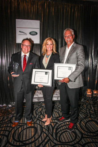 Jaguar Land Rover Canada Presents AJAC's 32nd Annual Journalist of the Year Award (Photo Credit: John R. ...