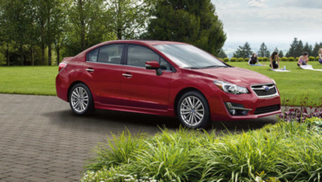 2016 Subaru Impreza 4-door (CNW Group/Subaru Canada Inc.)