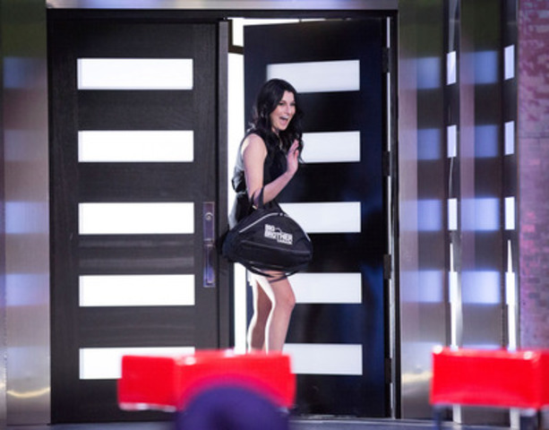 Rachelle Diamond is evicted from Big Brother Canada. Photo by Greg Henkenhaf. (CNW Group/SLICE)