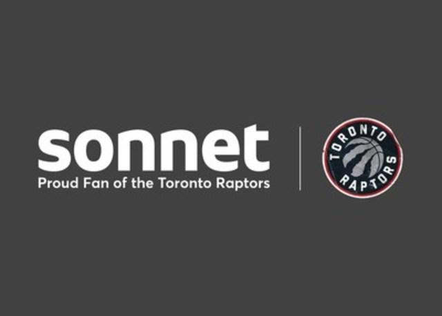 Sonnet is a proud fan of the Toronto Raptors (CNW Group/Sonnet Insurance Company)