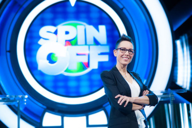 Host Elvira Kurt on the set of Spin Off (CNW Group/CHCH Television)