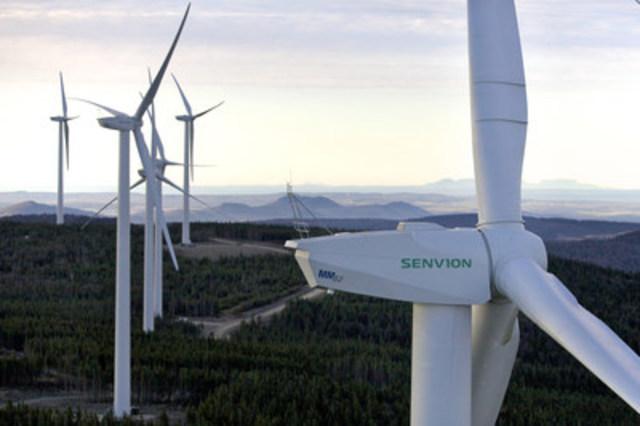 Parc Éolien Massif du Sud, 2013 (Groupe CNW/Senvion Canada Inc.)