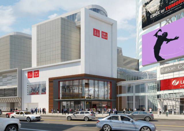 UNIQLO Launches First Canadian Store at CF Toronto Eaton Centre on Friday, September 30 (CNW Group/UNIQLO Canada)