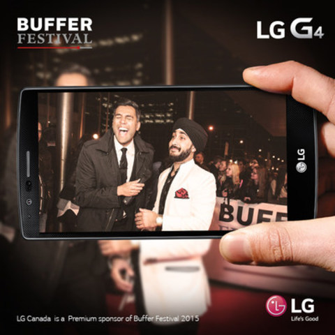 LG takes the filter off Toronto's 3rd Annual Buffer Festival (CNW Group/LG Electronics Canada)