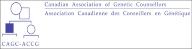Canadian Association of Genetic Counsellors (CNW Group/Canadian Association of Genetic Counsellors)