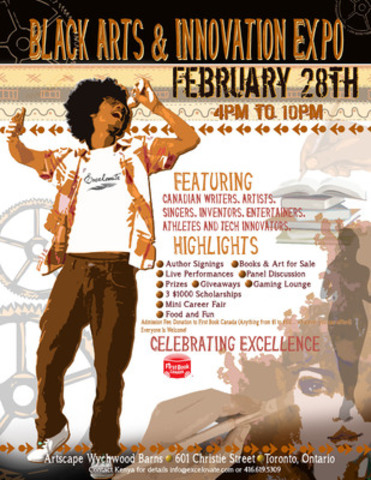 Celebrate Excellence at the Black Arts & Innovation Expo (CNW Group/Excelovate)