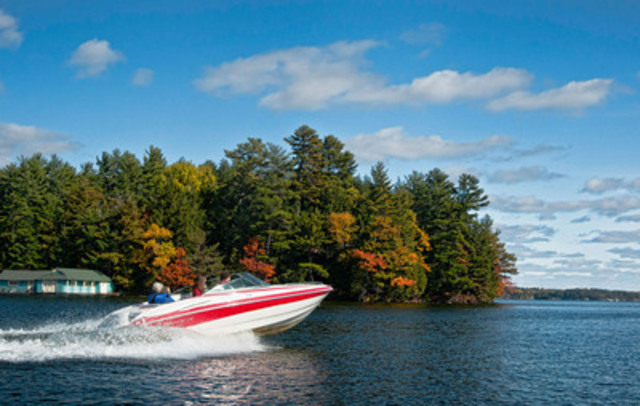 Muskoka, Ontario (Photo credit: Rob Stimpson) (CNW Group/Discover Boating Canada)