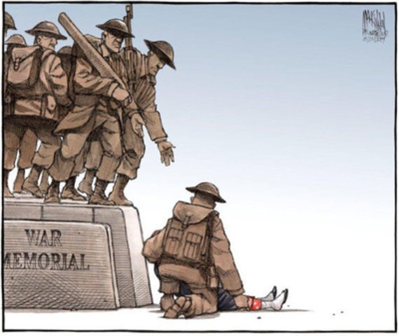One of Bruce MacKinnon's winning editorial cartoons. (CNW Group/National Newspaper Awards)