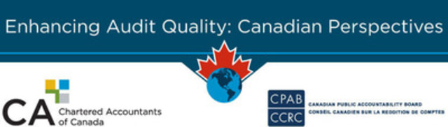 The Canadian Public Accountability Board and the Canadian Institute of Chartered Accountants have launched the Enhancing Audit Quality initiative. Perspectives gained through consultation will provide a clearer picture of Canadian stakeholder views on international audit reform proposals. (CNW Group/Canadian Institute of Chartered Accountants)