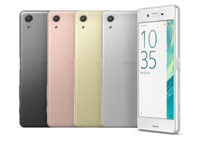 Xperia X Performance (CNW Group/Sony Mobile Communications)