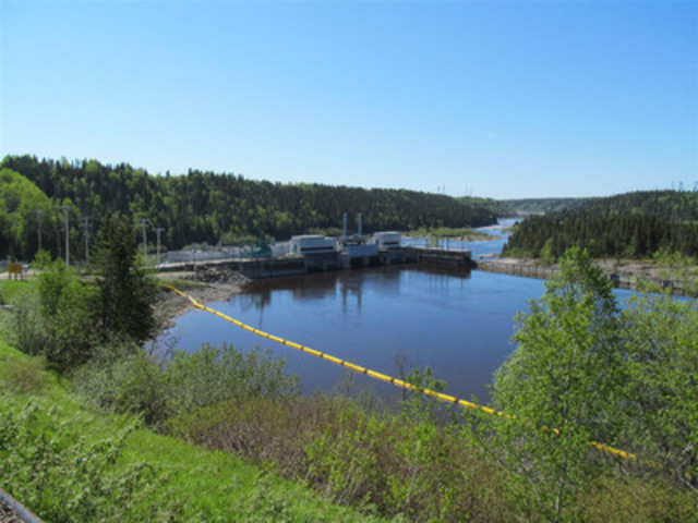 SM-1 hydroelectric facility, in Quebec (CNW Group/Innergex Renewable Energy Inc.)