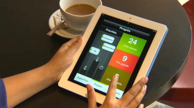Rouleau B vidéo : La nouvelle application pour appareils mobiles de la Fondation des maladies du cœur et de l'AVC aide la population à apporter d'importants changements à son mode de vie en 30 jours ou moins.