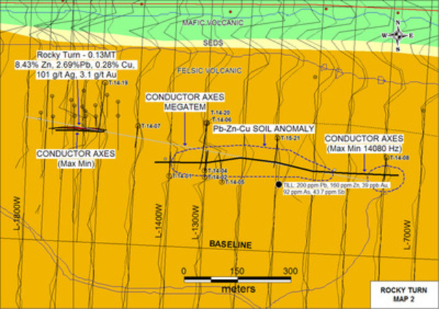 Rocky Turn Extension (CNW Group/Wolfden Resources Corporation)