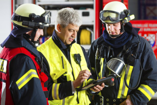 Cutting Edge Technology is now available to rural Fire Fighters (CNW Group/Fire Hall Utilities)