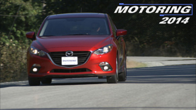 """The Mazda3 brings a lighter platform, better handling and improved power and fuel efficiency adding up to a fun to drive car the competitors simply cannot match."" (CNW Group/Bradford Productions)"