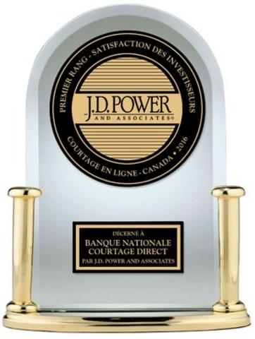 Les clients de Banque Nationale Courtage direct affichent la plus grande satisfaction de l'industrie (Groupe CNW/Banque Nationale du Canada)