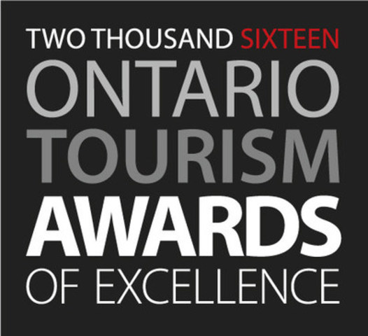 Announcing Winners of the 2016 Ontario Tourism Awards of Excellence (CNW Group/Ontario Tourism Marketing Partnership Corporation)