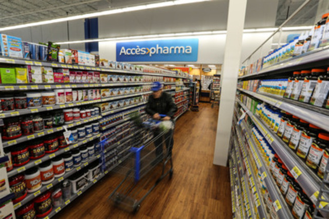 Accès Pharma pharmacy (CNW Group/Walmart Canada)