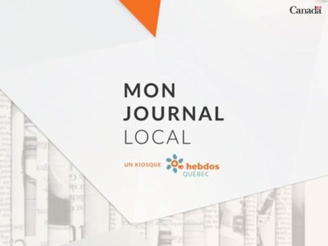 L'application kiosque d'Hebdos Québec. (Groupe CNW/Hebdos Québec)