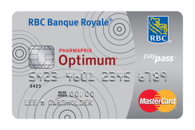 NOUVELLE CARTE SHOPPERS/PHARMAPRIX OPTIMUM MASTERCARD (Groupe CNW/RBC (French))
