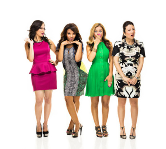 THE SOCIAL co-hosts (L to R) Cynthia Loyst, Traci Melchor, Melissa Grelo, and Lainey Lui (CNW Group/CTV)