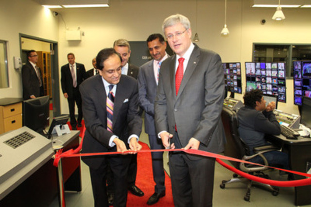 Ribbon Cutting ceremony (CNW Group/Asian Television Network International Limited)