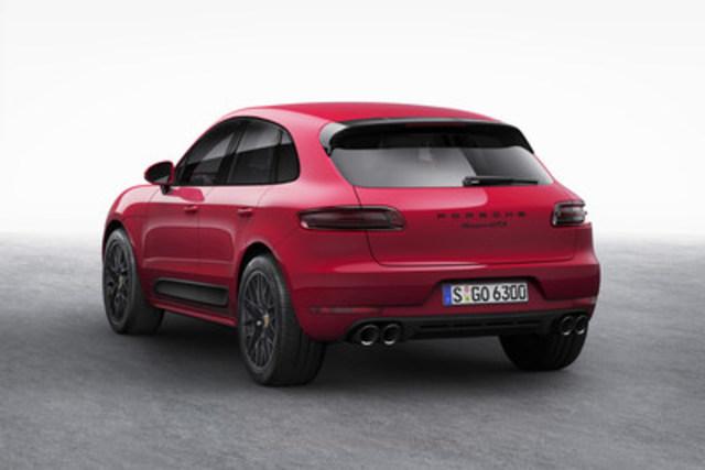 Le Porsche Macan GTS sera disponible au Canada au cours du deuxième trimestre de 2016 (Groupe CNW/Automobiles Porsche Canada)