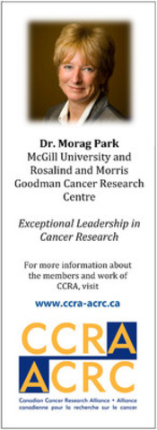 2015 CCRA Awards (CNW Group/Canadian Cancer Research Alliance)
