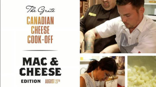 Video: The Grate Canadian Cheese Cook-Off: Mac & Cheese Edition, sponsored by Dairy Farmers of Canada