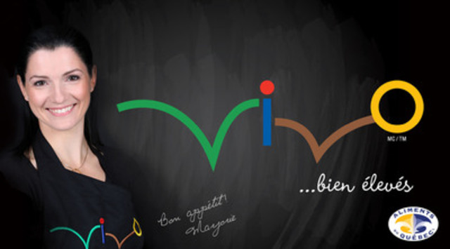 Marjorie Maltais, chef cuisinière, chroniqueuse et mère de famille, est la porte-parole de la nouvelle marque VIVO. (Groupe CNW/Vivo)