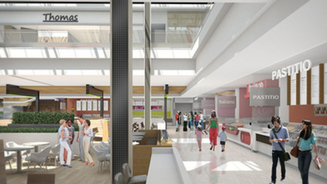 Les Promenades St-Bruno unveils $49M renovation plans (Source : Cadillac Fairview) (CNW Group/Cadillac Fairview Corporation Limited)